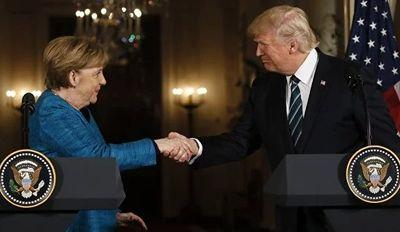 Меркель и Трамп обсудили российскую агрессию против Украины
