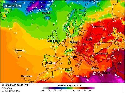 """В Украину пришла """"досрочная"""" жара"""