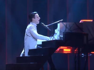 "Опубликовано видео первой репетиции Melovin на ""Евровидении-2018"" (ВИДЕО)"