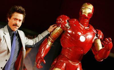 """В Голливуде пропал костюм """"Железного человека"""""""