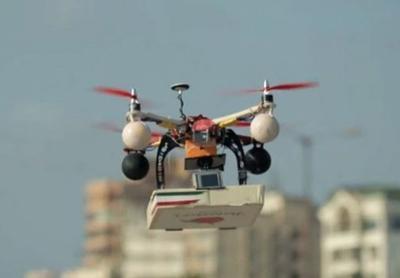 Uber запустила доставку еды дронами