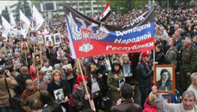 Как проходила подготовка и празднование 9 и 11 мая в «ДНР» у Захарченко