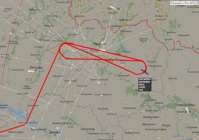 Американский беспилотник провел очередную разведку на границе Украины с Россией