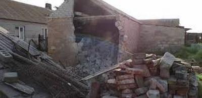 В ОБСЕ сообщили о повреждении жилого дома в результате обстрела Саханки