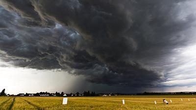 Грозы и шквалы: синоптики предупредили о сложных метеоусловиях на выходные