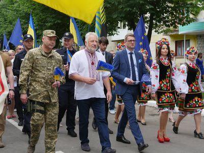 Один из городов Донбасса превратился в Европу