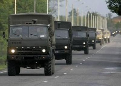 В Макеевке замечены груженые КАМАЗы в сопровождении «ВАИ ДНР»
