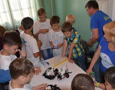 На Донбассе началась битва роботов