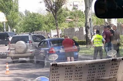 В Донецке произошло ужасное ДТП. ВИДЕО