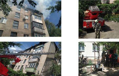 Пожар убил человека на Донбассе