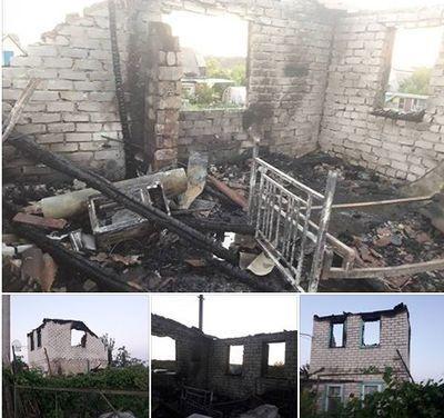 Ночью на Донбассе пожар убил инвалида