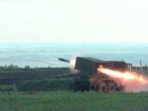 """Боевики притащили под Мариуполь """"Чебурашку"""" - систему залпового огня"""