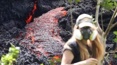 Извержение гавайского вулкана спровоцировало погодную аномалию