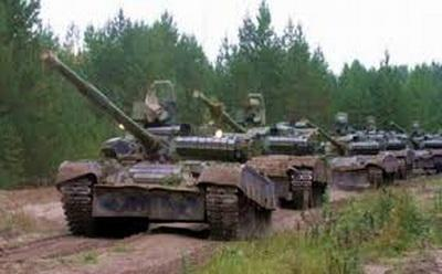 Миссия ОБСЕ обнаружила места скопления танков боевиков
