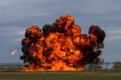 Жители Донецка напуганы мощным взрывом