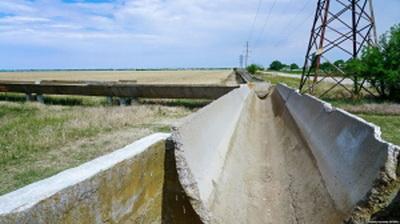 Россия полностью исчерпала водный ресурс Крымского полуострова