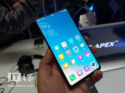 """Vivo выпустила """"самый безрамочный"""" смартфон в мире"""