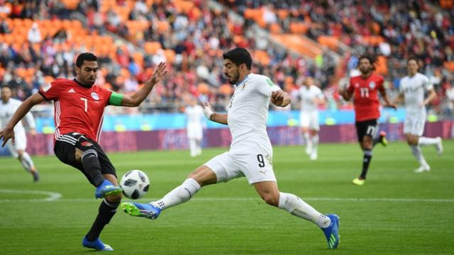 ЧМ-2018: Уругваю победу над Египтом принес гол Хименеса на 90-й минуте