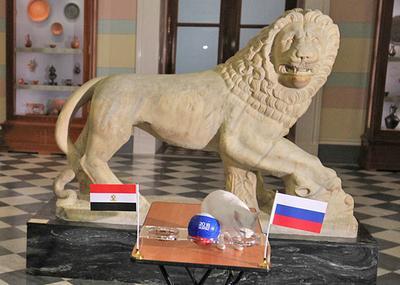 Кот-предсказатель из Эрмитажа назвал победителя матча Россия - Египет