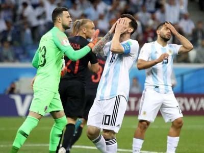 Хорватия сенсационно обыграла Аргентину со счетом 3:0