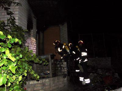Огонь убил человека на Луганщине