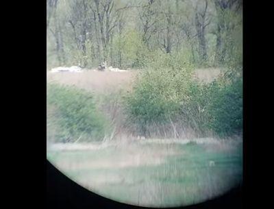 """Отомстили за """"Чечена"""": в сеть выложили момент ликвидации боевика снайпером ВСУ"""