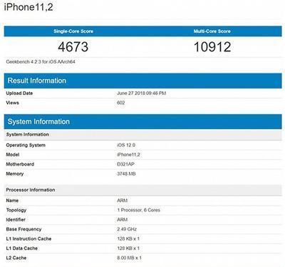 Таинственный iPhone 11 установил новый рекорд Geekbench