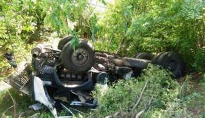 Возле Никополя попал в ДТП военный грузовик, есть погибшие