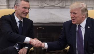Трамп поругался с генсеком НАТО из-за России