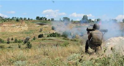 """От артиллерии оккупанта не останется ничего: ООС под носом у врага отстрелялись """"Шмелями"""""""