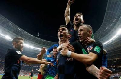 Хорватия впервые в истории вышла в финал Чемпионата мира по футболу (ВИДЕО)