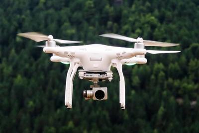 ДТЭК начала использовать дроны для обследования электросетей