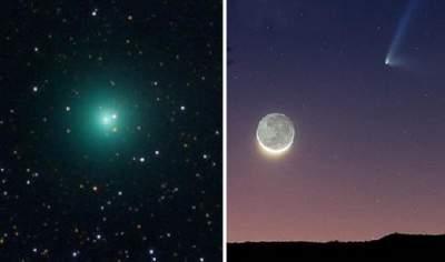В Августе на небе можно будет увидеть комету