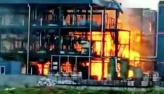 В Китае прогремел взрыв на химзаводе: десятки погибших