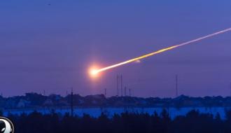В сеть выложили уникальное видео крушения НЛО