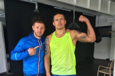 Усик уволил своего тренера накануне боя с Гассиевым