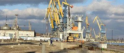 В мариупольском порту начато строительство зернового терминала