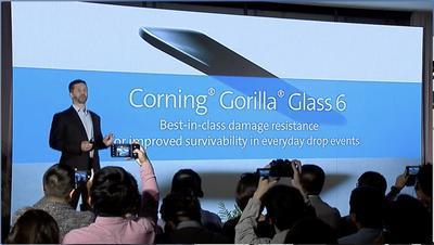 Представлено шестое поколение защитных стекол Gorilla Glass