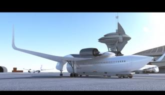 Во Франции инженеры показали «летающий поезд»