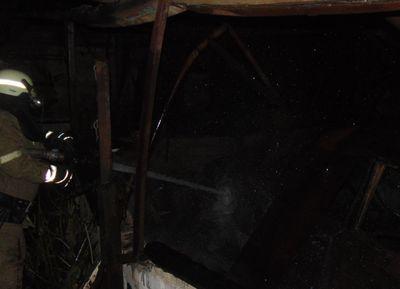 Ночью пылала Луганщина