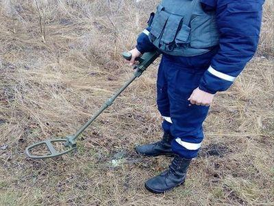 На Луганщине изъяли 33 взрывоопасных предмета