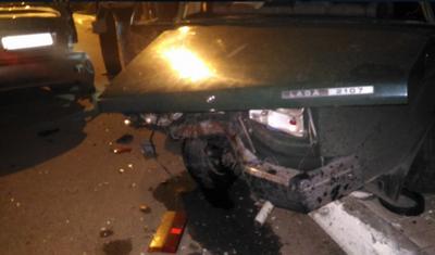 В Донецке пьяный житель устроил тройное ДТП