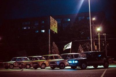 В Горловке устраиваются ночные автогонки