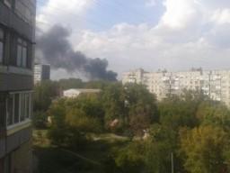 Оккупационные «власти ДНР» говорят о пожаре на «Точмаше», но молчат о взрыве