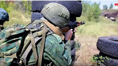 """Батальон """"Сомали"""" готовится штурмовать новый участок фронта: появилось видео"""