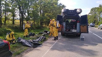 В Днепропетровской области произошла утечка азотной кислоты
