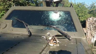 В ГПСУ показали последствия обстрела КПВВ «Майорска»
