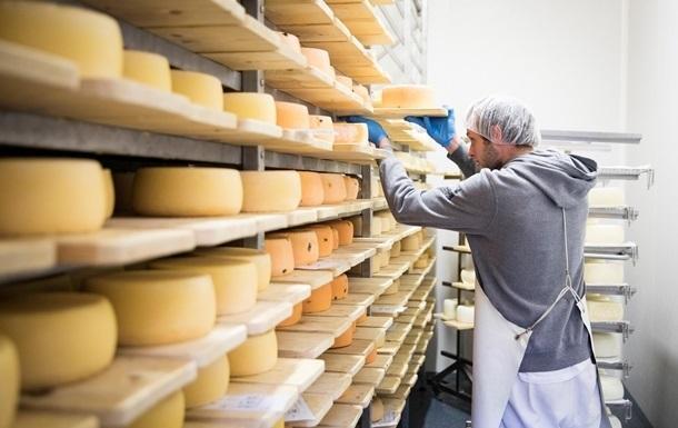 Украина увеличила импорт сыров на 30%