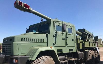 """155-мм """"Богдана"""": в сети показали новое мощное оружие украинского производства"""