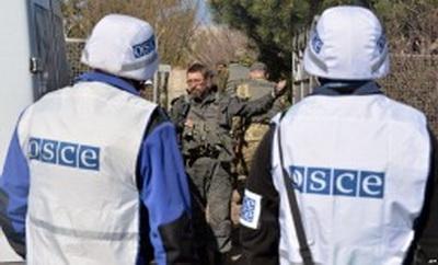 Вооруженные боевики «ДНР» не пропускают наблюдателей СММ ОБСЕ, ссылаясь на «приказы»
